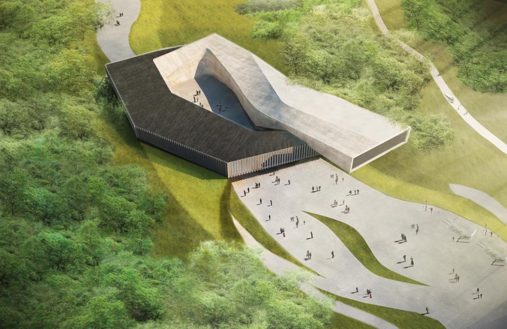 NiuZhaiShan Mountaintop Museum