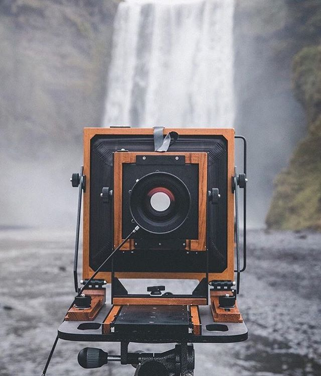 You have been taking our cameras around the world. Like @natalieanalog here in Iceland. Which of your destinations have been your favourite? Which one would you highly recommend and why? Happy New Year to you all and thank you for your continued support. #chamonixviewcamera #largeformatcamera #filmphotography #filmisalive #largeformatphotography