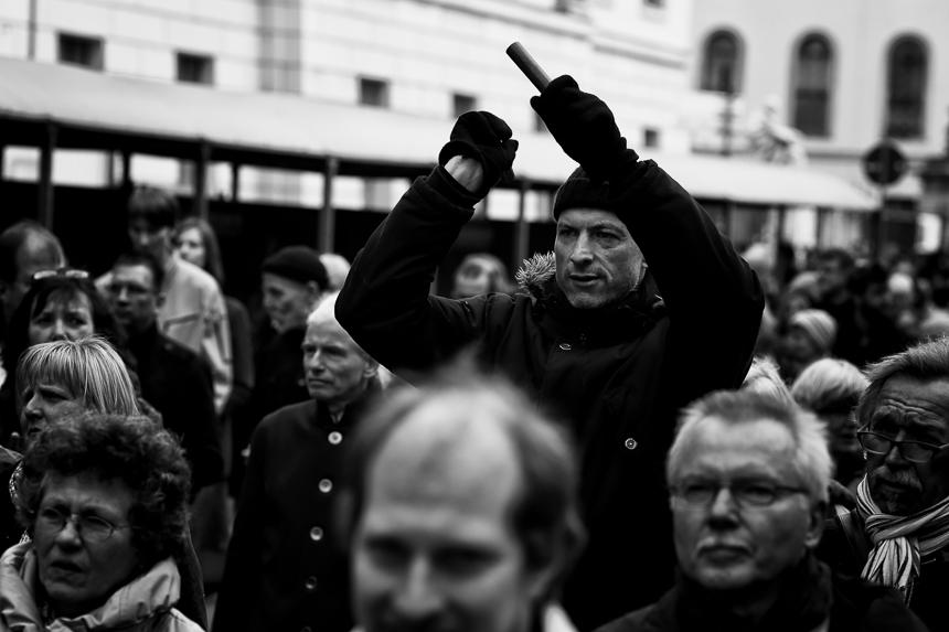 Ökumenische Karfreitagsprozession in Berlin