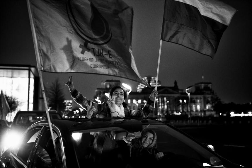 Bus Tour zur Befreiung Öcalans in Berlin