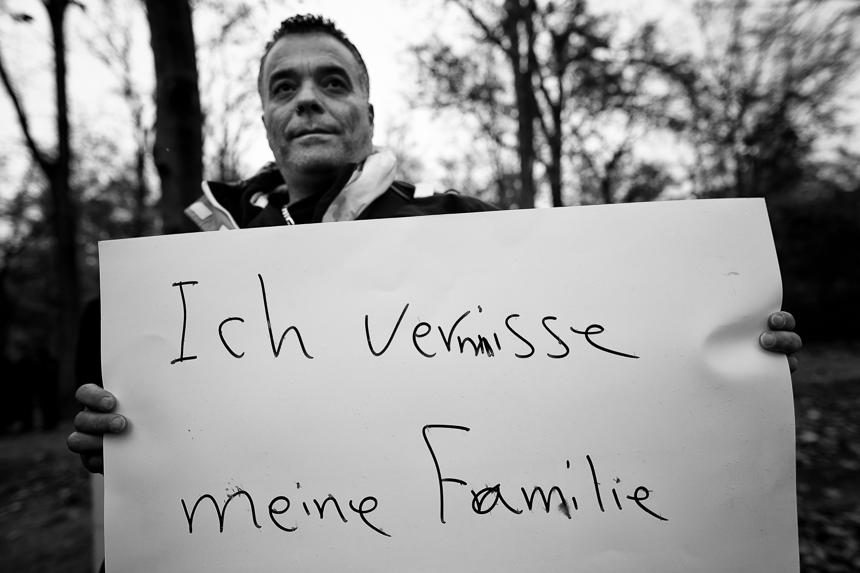 Syrer protestieren in Berlin für Familienzusammenführung