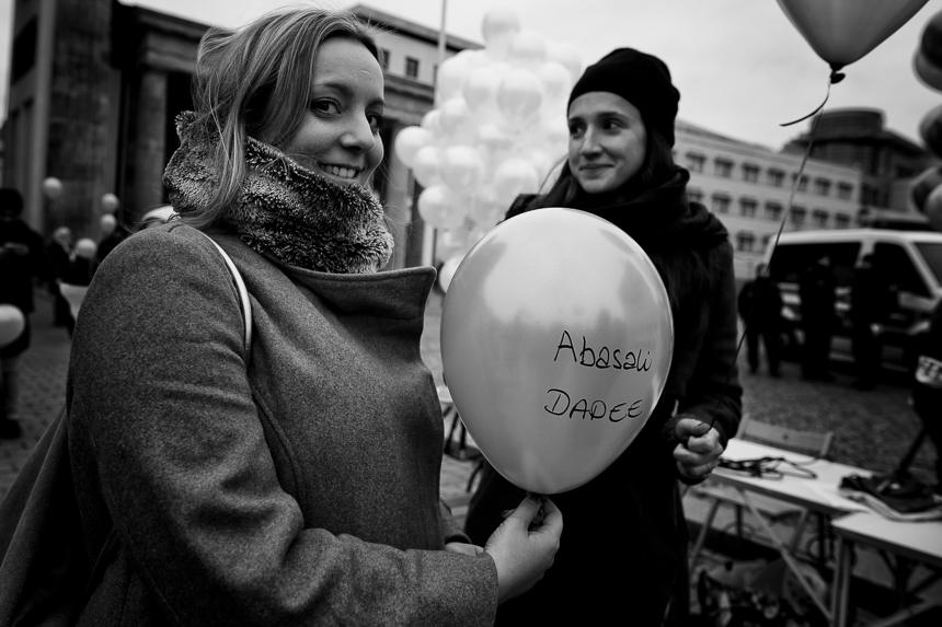Iraner protestieren in Berlin für Demokratie im Iran