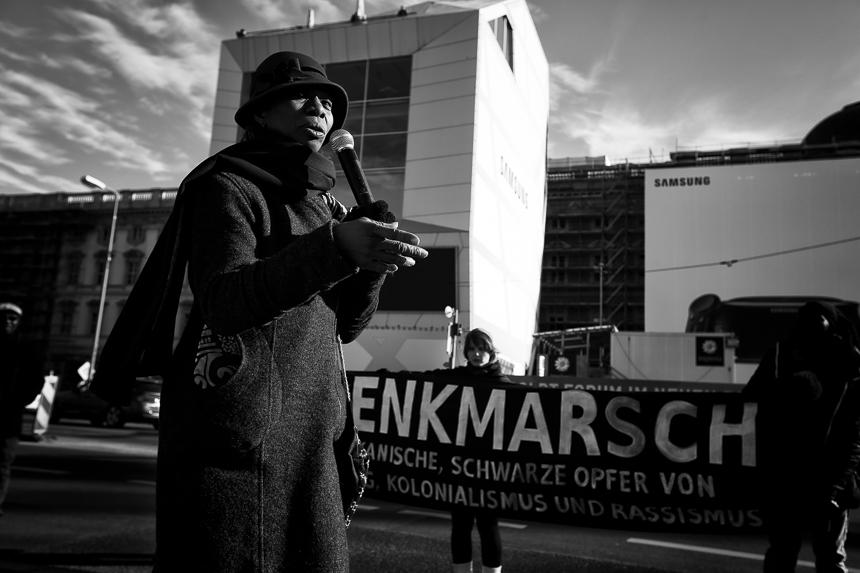 Erinnerung an die Opfer von Sklaverei und Kolonialismus in Berli