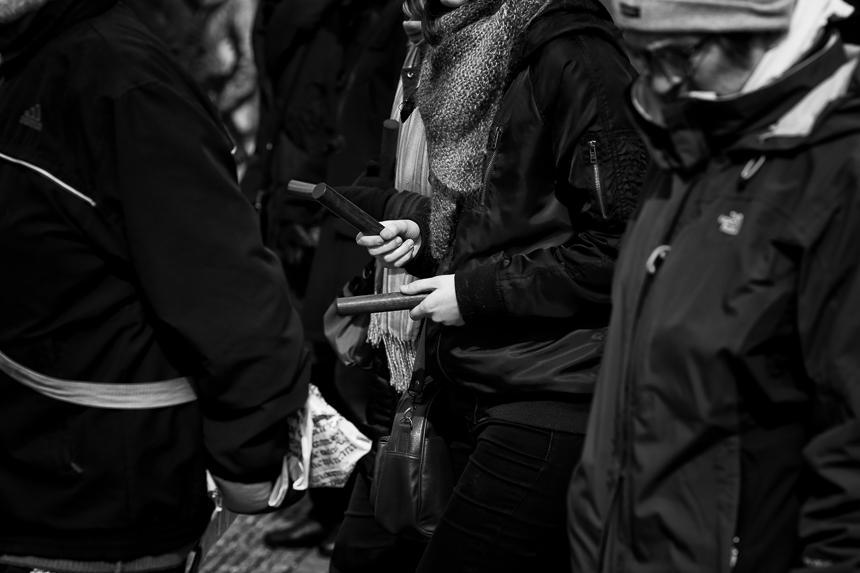Ökumenische Prozession zu Karfreitag in Berlin