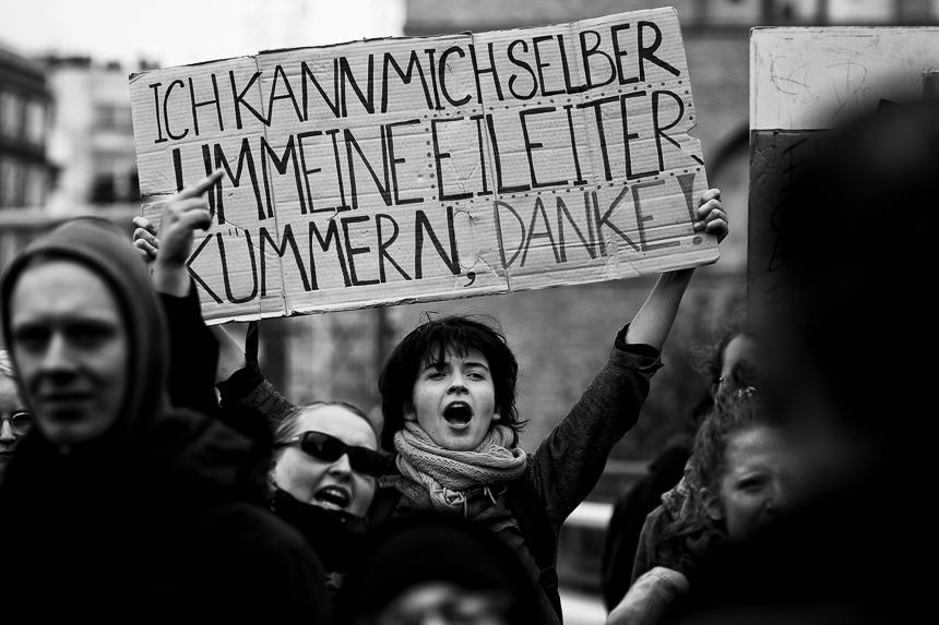 """""""Marsch für das Leben"""": Proteste gegen Abtreibungsgegner"""