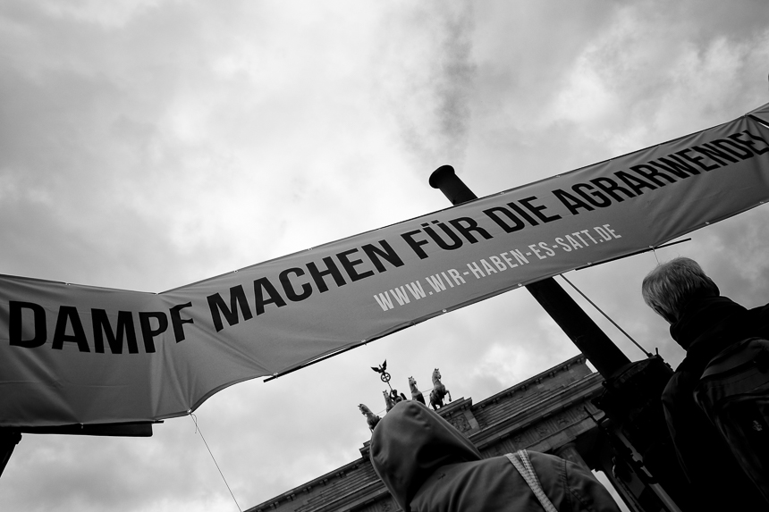 Hunderte protesteren in Berlin für den Schutz von Insekten