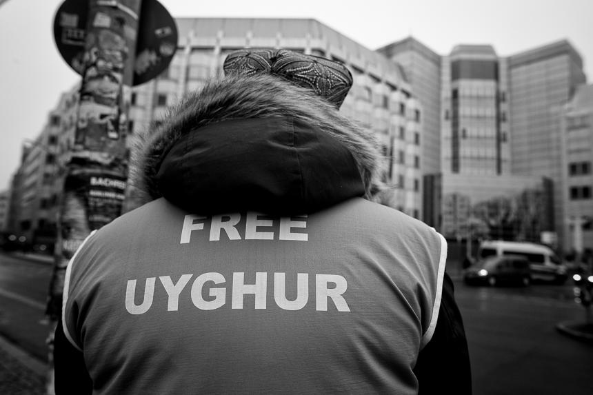 Millî Görüş demonstriert in Berlin gegen Verfolgung der Uigu