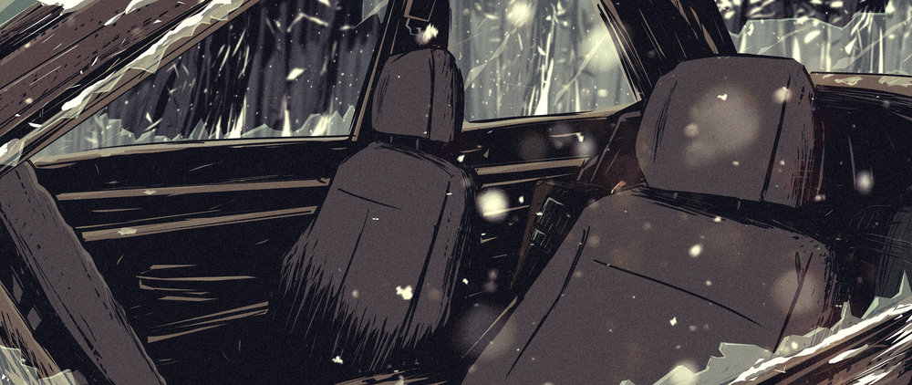 car crash art with bags.jpg