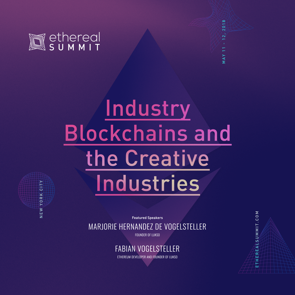 Industry Blockchains and the Creative Industries