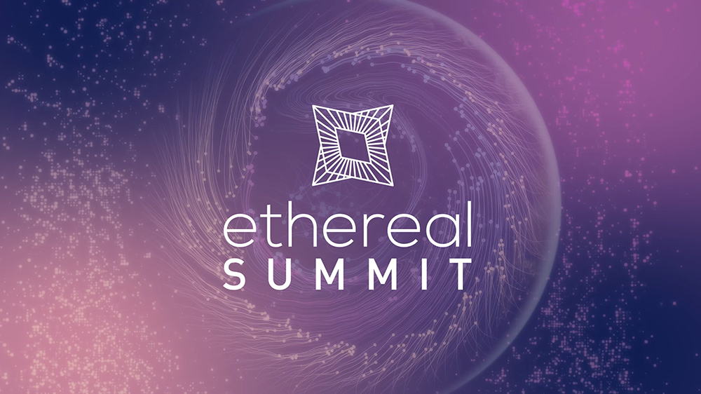 Ethereal Summit 2018 - Branding / Digital / production / Animation