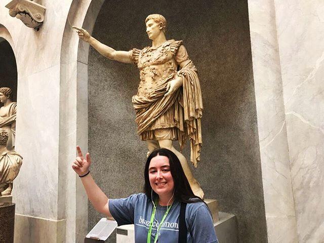 Emperor Augustus + Boaz = 😝💙🙌🏼