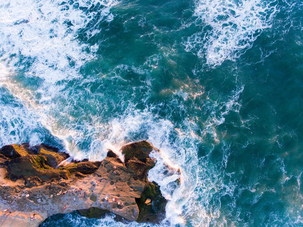 Sunset Cliffs | San Diego, CA | DJI Phantom 4