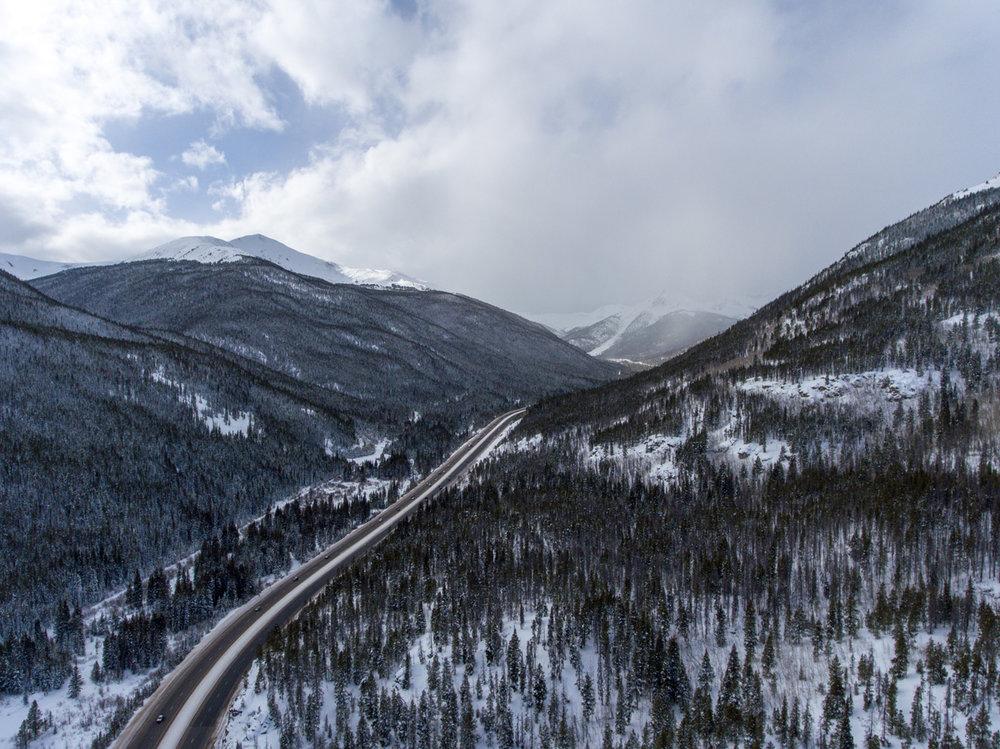 Highway | Steamboat Springs, CO | DJI Phantom 4