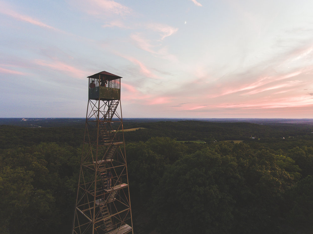 Fire Watch Tower | Hillsboro, MO | DJI Phantom 4