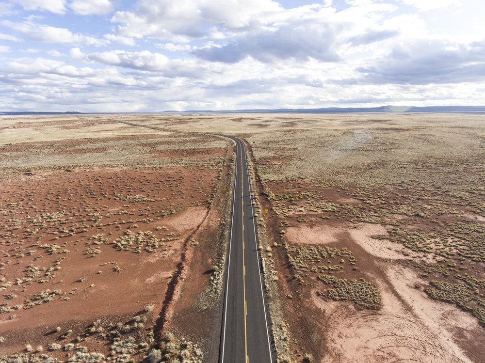 Desert | Meteor Crater Road, AZ | DJI Phantom 4