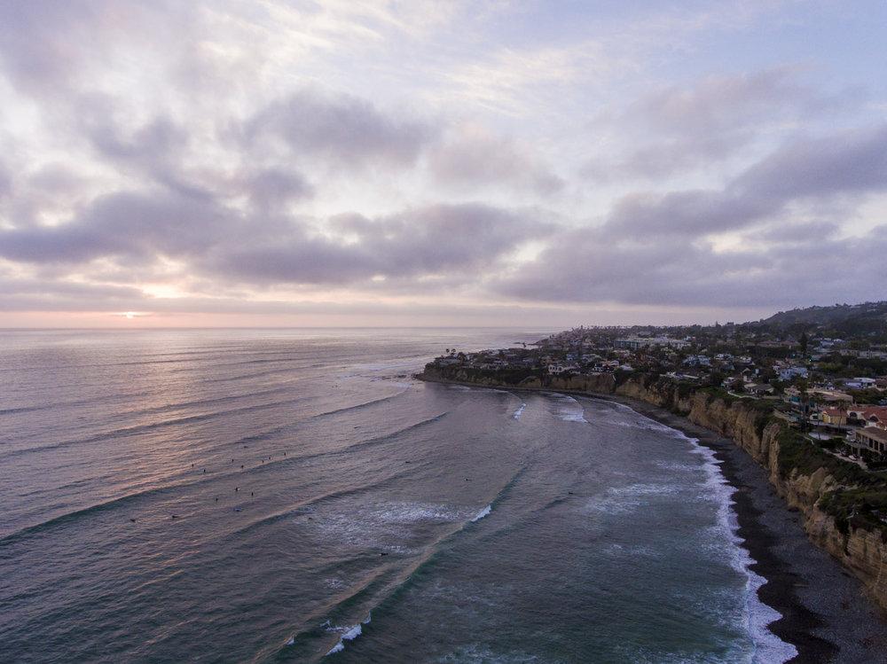 Pacific Beach | San Diego, CA | DJI Phantom 4