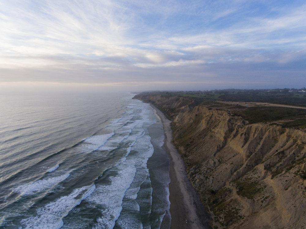 Blacks Beach | Torrey Pines, CA | DJI Phantom 4