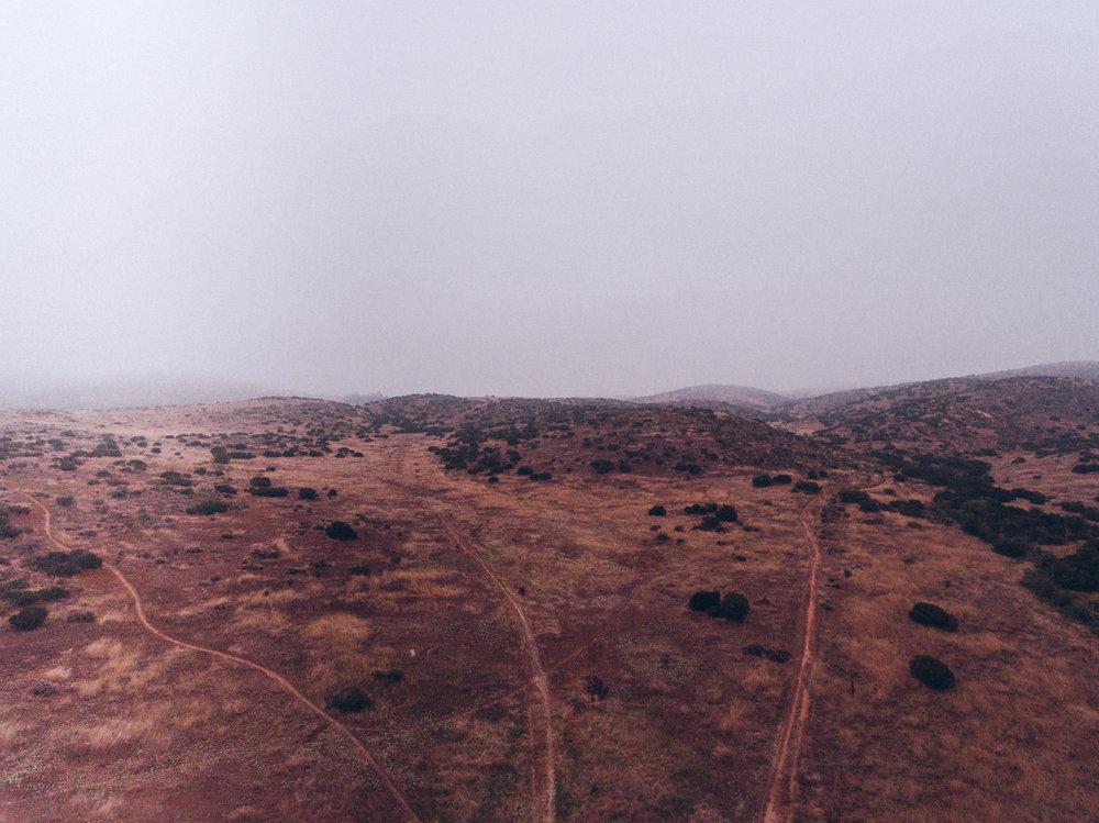 Desert Fog | San Diego, CA | DJI Phantom 4