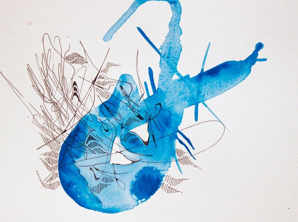 Blue by Rowan Willigan