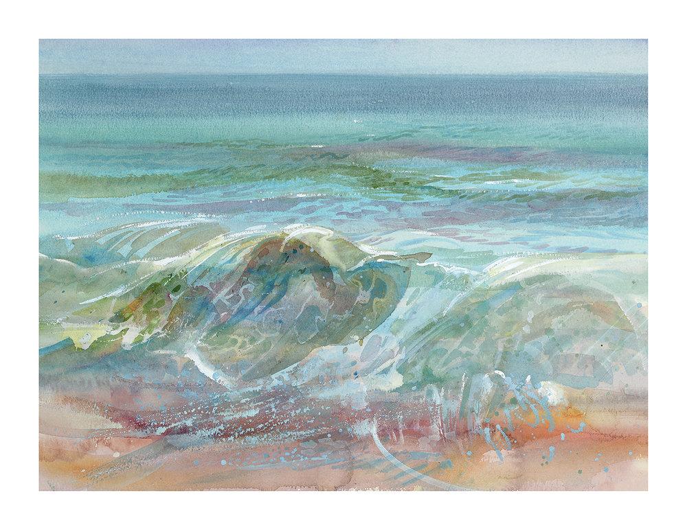 Wave, Chesil Beach