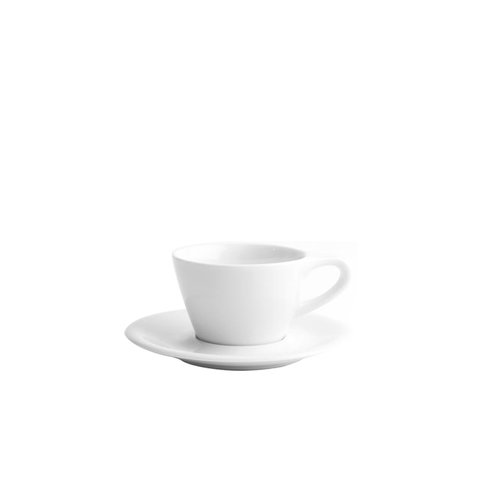 Lino Small Latte Cup and Saucer — Design Warehouse