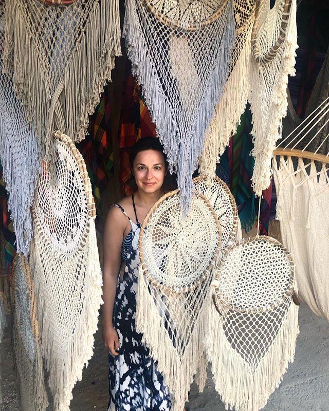 Catching dreams in Tulum.