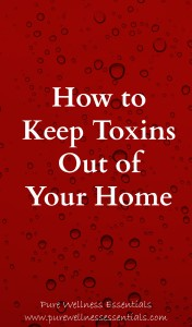 How to Keep Toxins out of Your Home