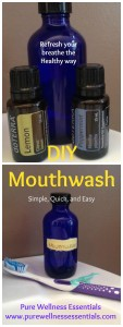 DIY Mouthwash