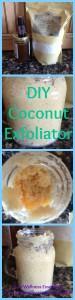 DIY Coconut Exfoliator
