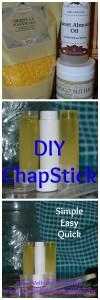 DIY Chapstick