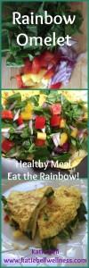 Rainbow Omelet