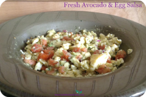 Fresh Avocado Egg Salsa 2