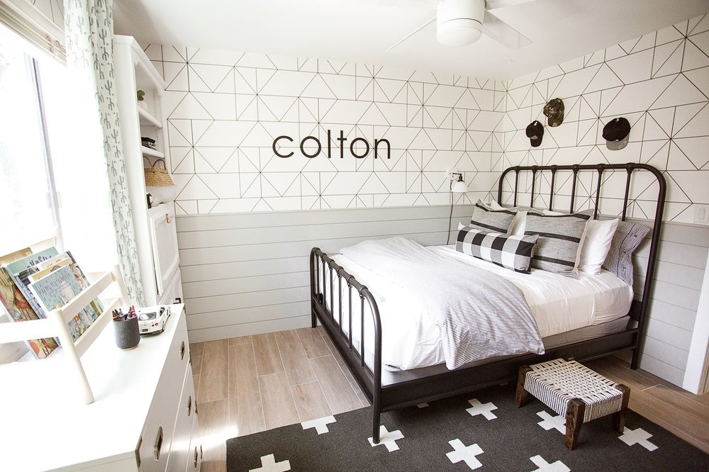 Boho Boys Room Design