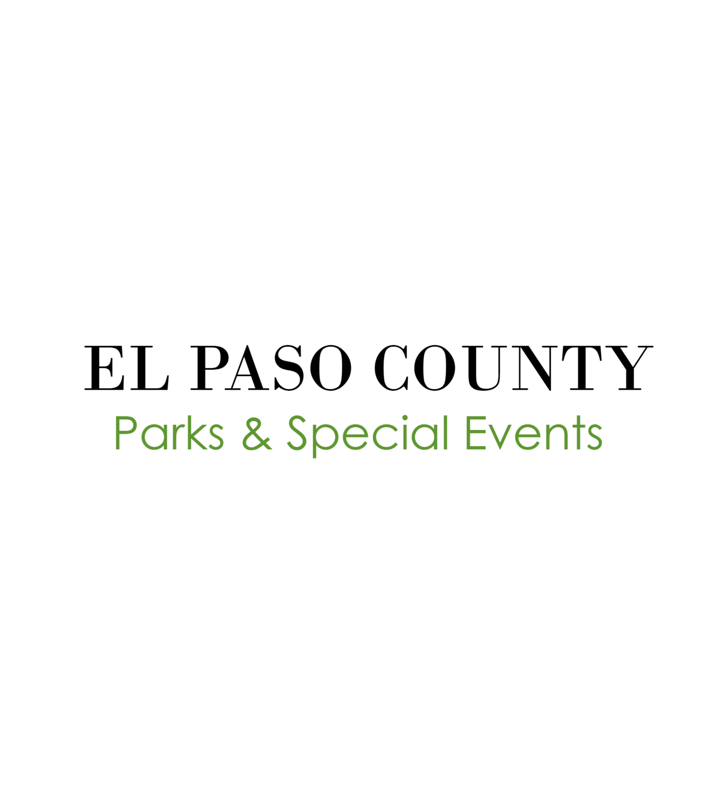 calendar — el paso county parks & recreation