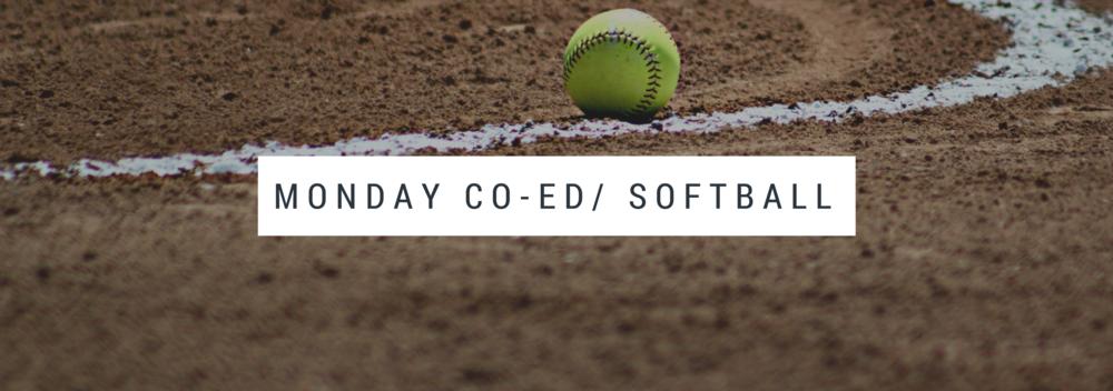Monday Co-ed Softball