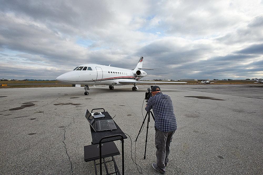 Behind the Scenes: Dassault Falcon 2000