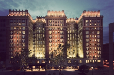 The Skirvin Hilton Hotel, Oklahoma City, Oklahoma