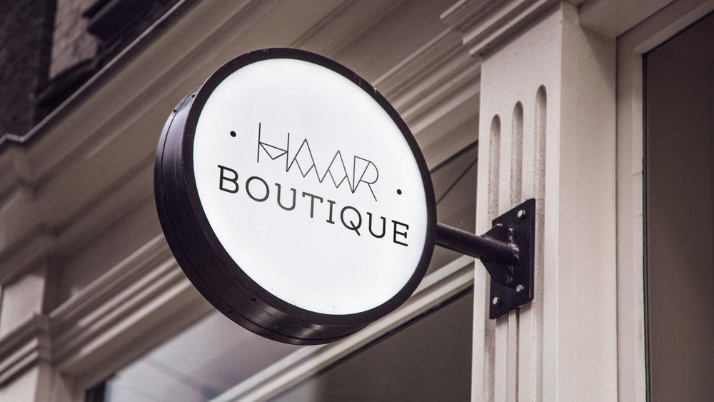 Haarboutique_Branding_Schild_1