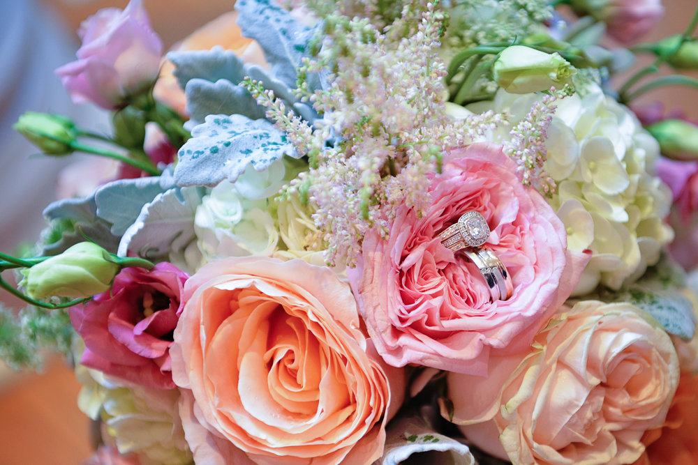 bridal bouquet of pinks and peaches in houston texas photo.jpeg