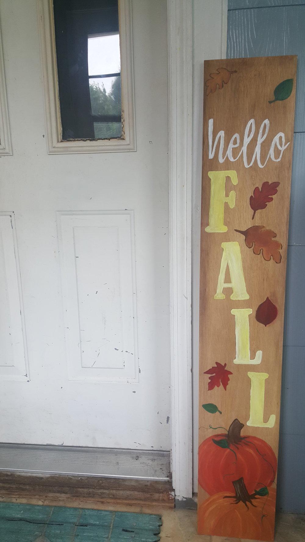 4 ft porch signs (endless design options!)