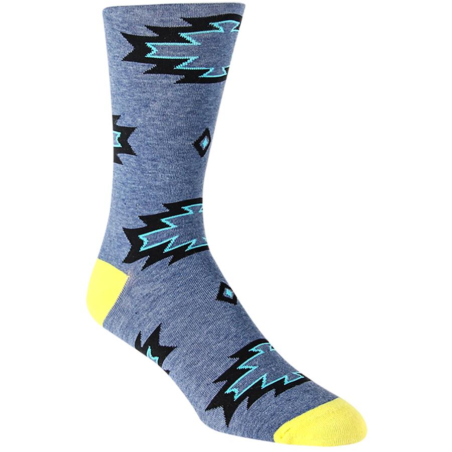 Lightning Tribal Mens Socks