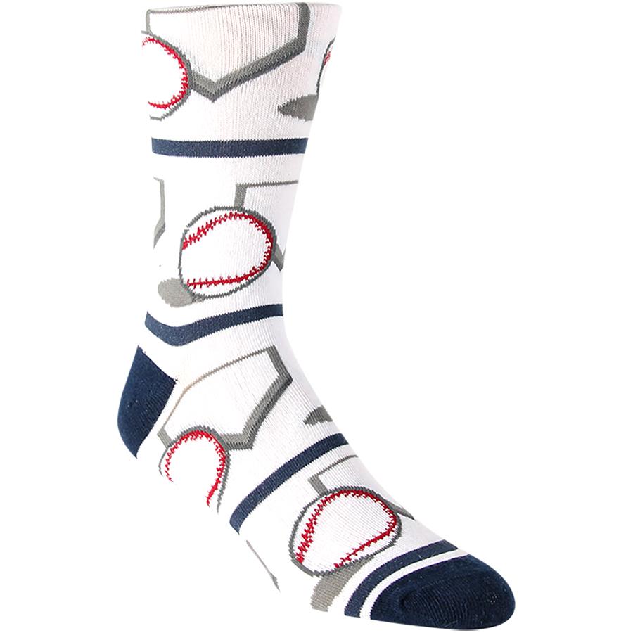 Base-ball Mens Socks