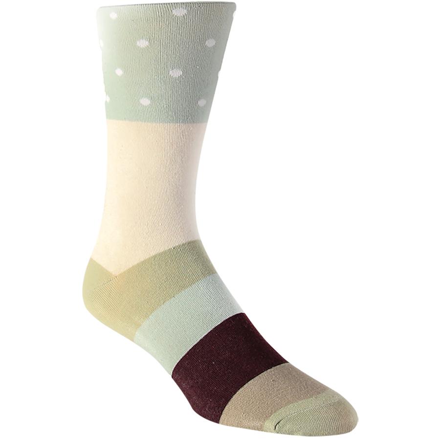 Dot Black Mens Socks