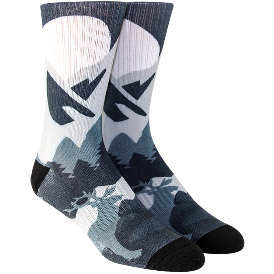 Mountain Landscape Mens Socks