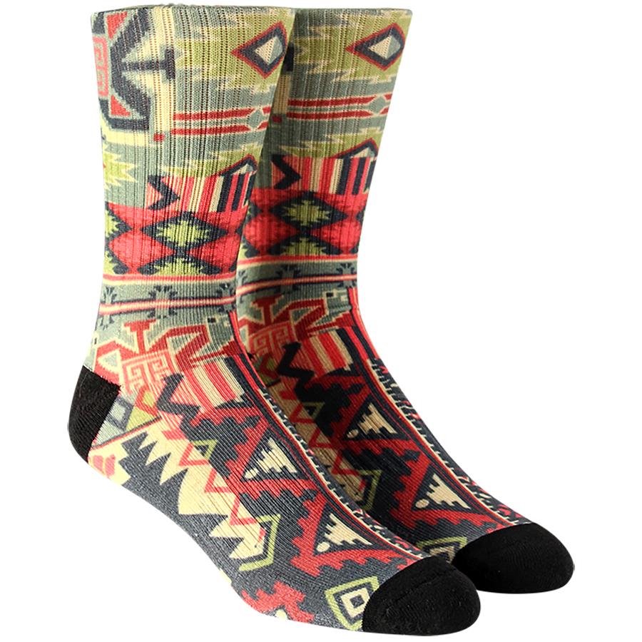 Ethnic Bandana Mens Socks