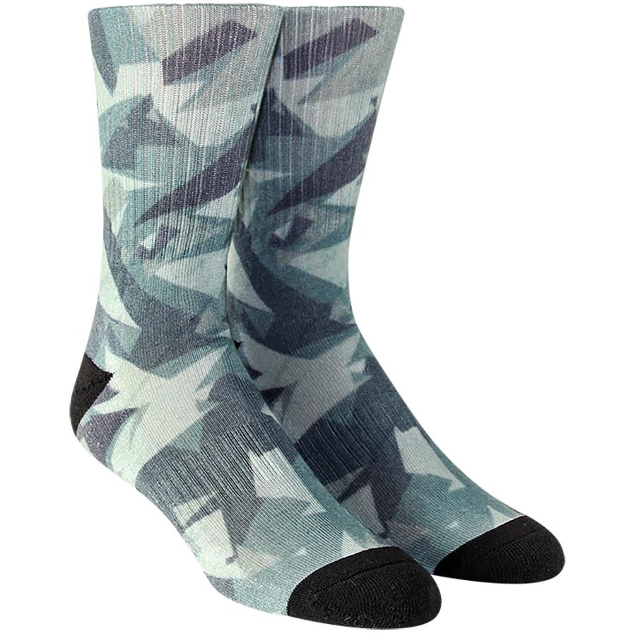 Shattered Camo Mens Socks
