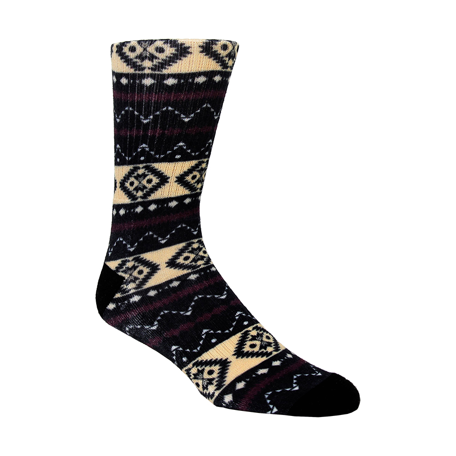 Diamond Tribal Mens Socks
