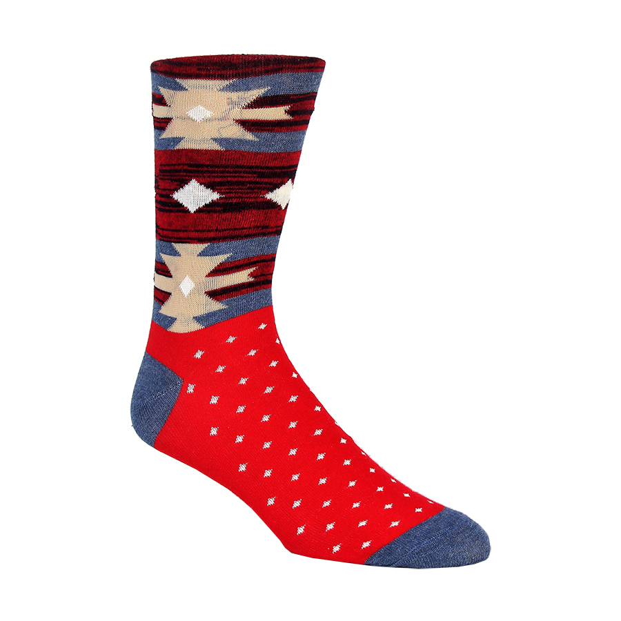 Americana Tribal Mens Socks
