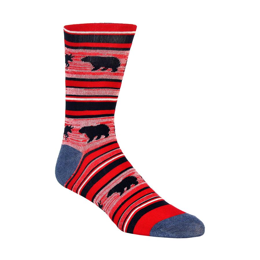 Bear and Bull Americana Mens Socks