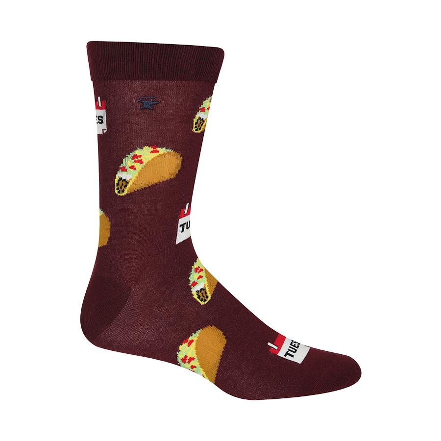 Taco Tuesday Mens Socks